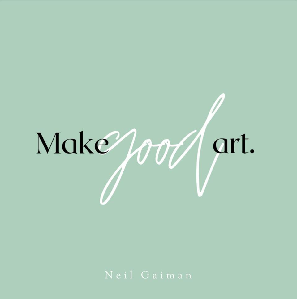 Green Typographic Quote Instagram Post