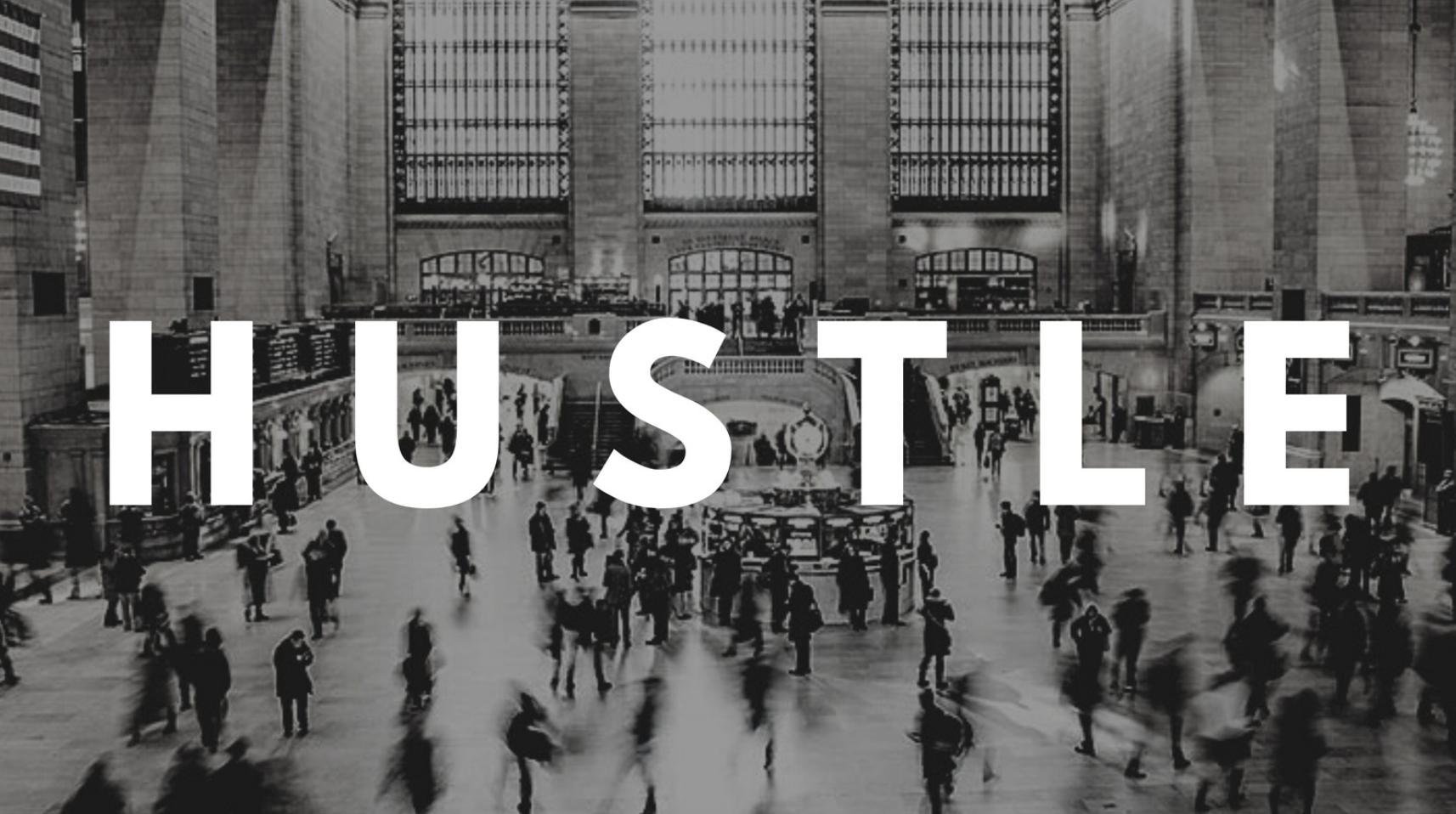 Hustle Twitter Post